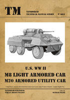 TM U.S. WWII M8 Light Armour Car M20 Armoured Utility Car