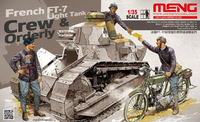 French FT-17 Light Tank  Crew  & Orderly