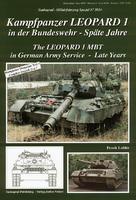 Kampfpanzer LEOPARD 1 in der BW - Spate Jahre
