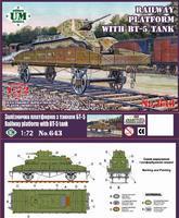 Railway Platform with BT-5 Tank