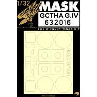 Gotha G.IV 1:32 masky
