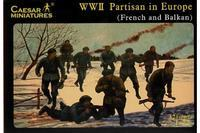 Partisan in Europe WWII (French and Balkan) 32 fig.