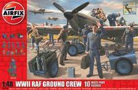 WWII RAF Ground Crew 10 Multi-Part Figures