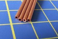 měděná trubka o2mm x 0,45mm délka 305mm 4ks