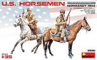 U.S. Horsemen Normandy 1944