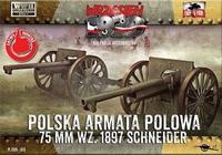 Polska Armata Polowa 75mm wz.1897 Schneider