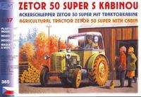 Zetor 50 Super, s kabinou
