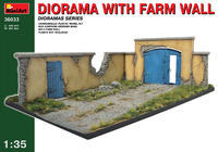 Diorama w/Farm Wall