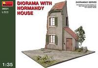 Diorama with Normandy House