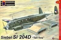 """Siebel Si 204D """"Tall fins"""""""
