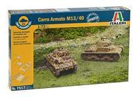 Carro Armato M13/40 - 2x fast assembly kit