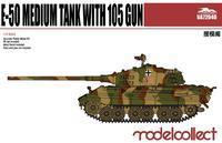 German WWII E-50 Medium Tank with 105 gun