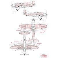 P 47D Thunderbolt Bubbletop nýtovací sada 1:72
