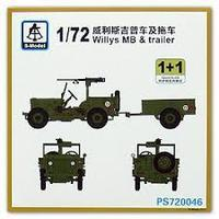 Willys MB with trailer