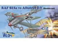 RAF SE5a vs Albatros D.V
