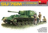 SU-76M with Crew