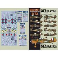 Gloster Gladiator 1:72 Nad severní a východní afrikou