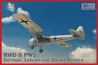 RWD-8 PWS – German, Latvian and Soviet service.
