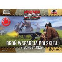 Těžké zbraně polské pěchoty 1939