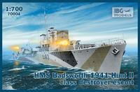 HMS Badsworth 1941 Hunt II class destroyer escort