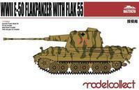 Germany WWII E-50 Flakpanzer with FLAK 55