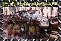 WWII Panzergrenadiers Kharkov 1943