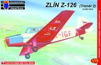 Zlín Z-126 (Trenér 2) úvodní serie