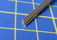 tyč kruhového průřezu z pantografu o0,6mm délka 305mm 5ks