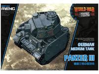 Panzer III German Medium Tank - World War Toons
