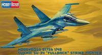 Russian Su-34 Fullback Fighter-Bomber