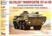 Velitelský transportér OT-64 R2