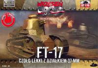 FT-17 37mm litá věž