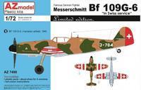 """Messersmichmitt Bf 109G-6 """"In Swiss service"""""""