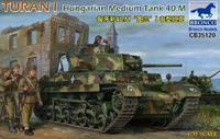 Turan I Hungarian Medium Tank 40.M