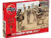 British Forces Infantry Patrol 1:48