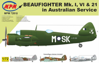 Beaufighter Mk. I , VI & 21 in Australian Service