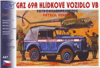 Gaz-69A hlídkové vozidlo VB
