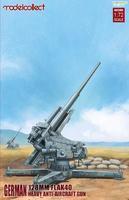German Flak 128mm FLAK 40 heavy anti-aircraft gun