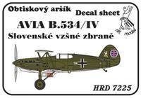 Avia B.534/IV Slovenské vzdušné zbraně