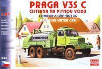 Praga V3S C cisterna na pitnou vodu