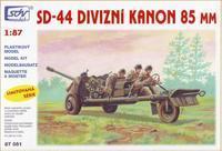 SD-44 Divizní kanon 85mm