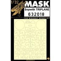 Sopwith Triplane 1:32 masky