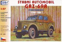 GAZ -69A štábní automobil