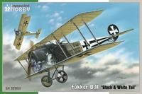 "Fokker D. II ""Black & White Tail"" 1/32"