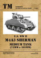 U.S. WWII M4A3 Sherman Medium Tank (75mm a 105mm)