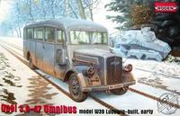Opel 3,6-47 Omnibus model W39 Ludewig-built. early