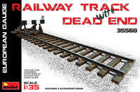 Railway Track with Dead End