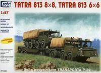 Tatra 813 8x8, Tatra 813 6x6, set s podvalníkem P-32