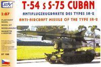 T-54 s protiletdlovou střelou S-75 Cuban