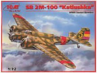 "SB 2M 100 ""Katiushka"" Spanish Air Force Bomber"